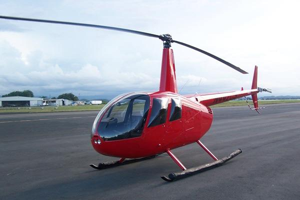 Helicopter flights Robinson R44